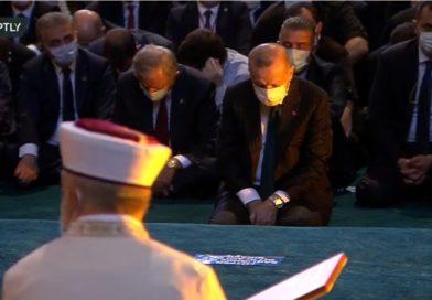 Aucun dirigeant musulman n'a répondu à l'invitation d'Erdoğan pour la prière à Sainte-Sophie