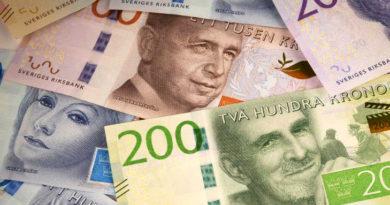 Billets banque Suède