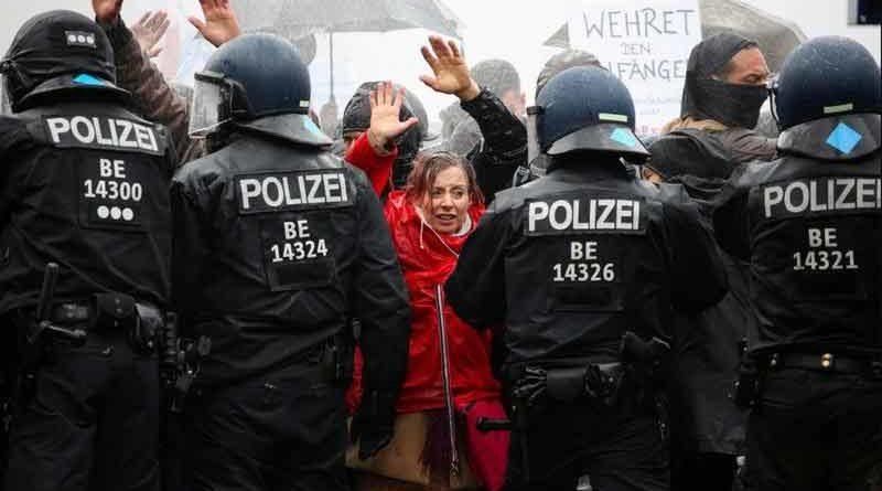 Manifestations anti confinement