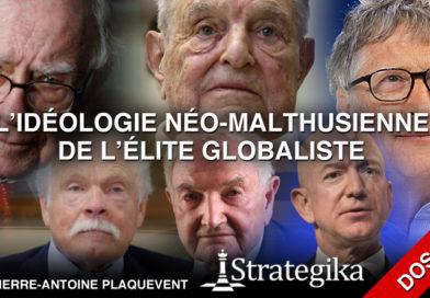 Gates, Soros, Rockefeller, Buffet, Bezos : l'idéologie néo-malthusienne des élites globalistes