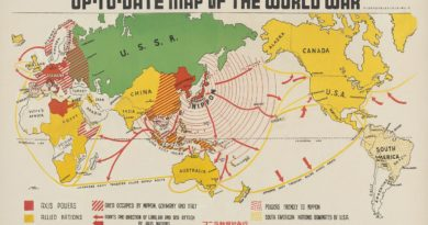 WWII map