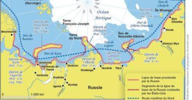 route arctique russe